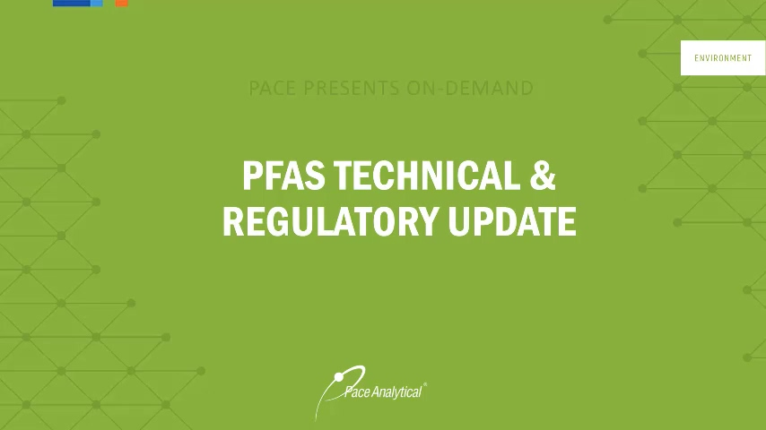 PFAS On-Demand Webinar